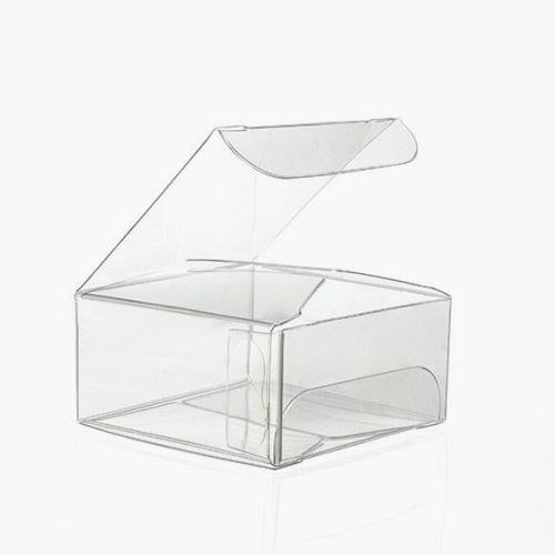 "10 Clear Boxes (2"" x 1"")"