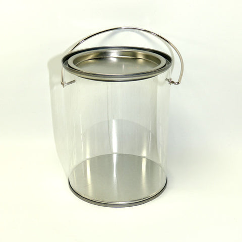 Clear Paint Bucket