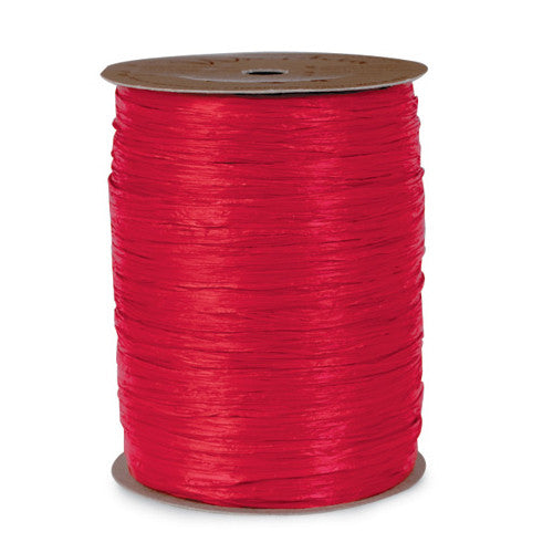 1 Roll Red Raffia Ribbon (100 yds.)