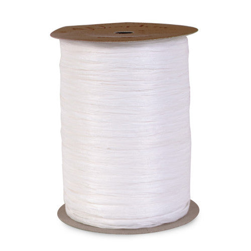 1 Roll White Raffia Ribbon (100 yds.)