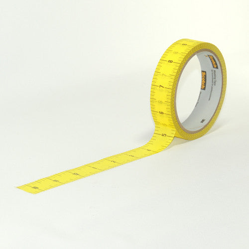 1 Roll ruler tape 20 yds.