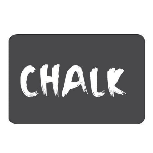 Sheet of 25 Chalk Labels