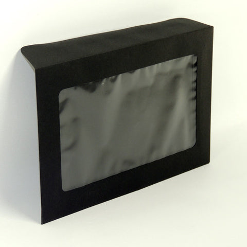 Black Window Pouch