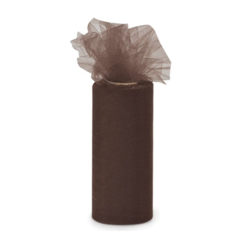 Brown Tulle Ribbon