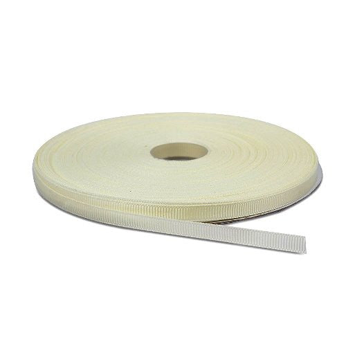 Ivory Grosgrain Ribbon - 1/4""