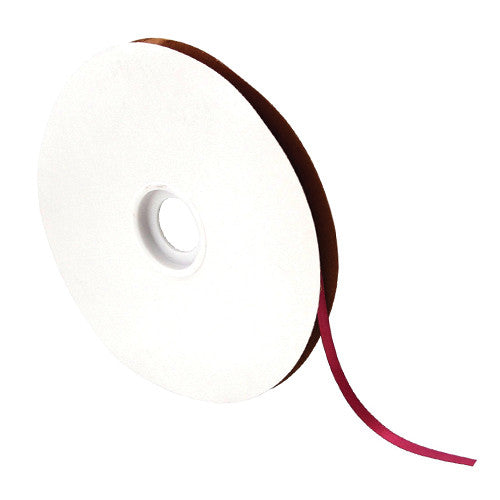 Wine Satin Ribbon - 1/4""