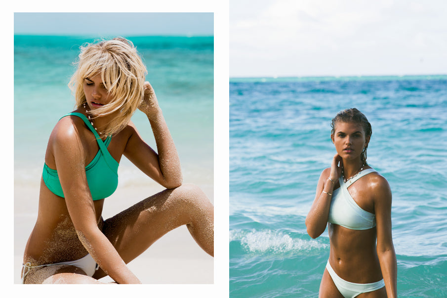 MALDIVES SERINA TOP & GLASS LILY BOTTOM // SERINA TOP & VERONICA BOTTOM IN GLASS
