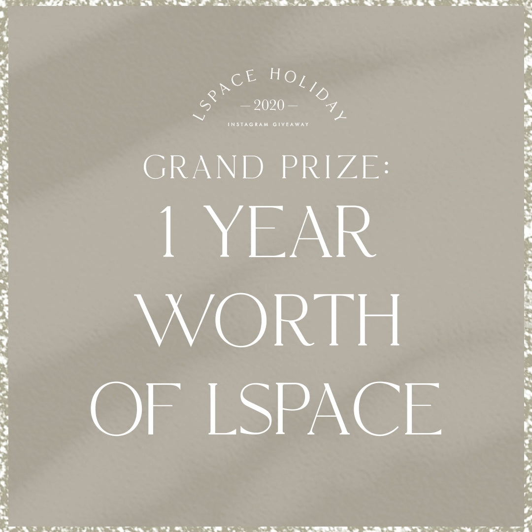 12 31 IG giveaway grandprize post 2048x2048 With Love From LSPACE Grand Prize Instagram Giveaway