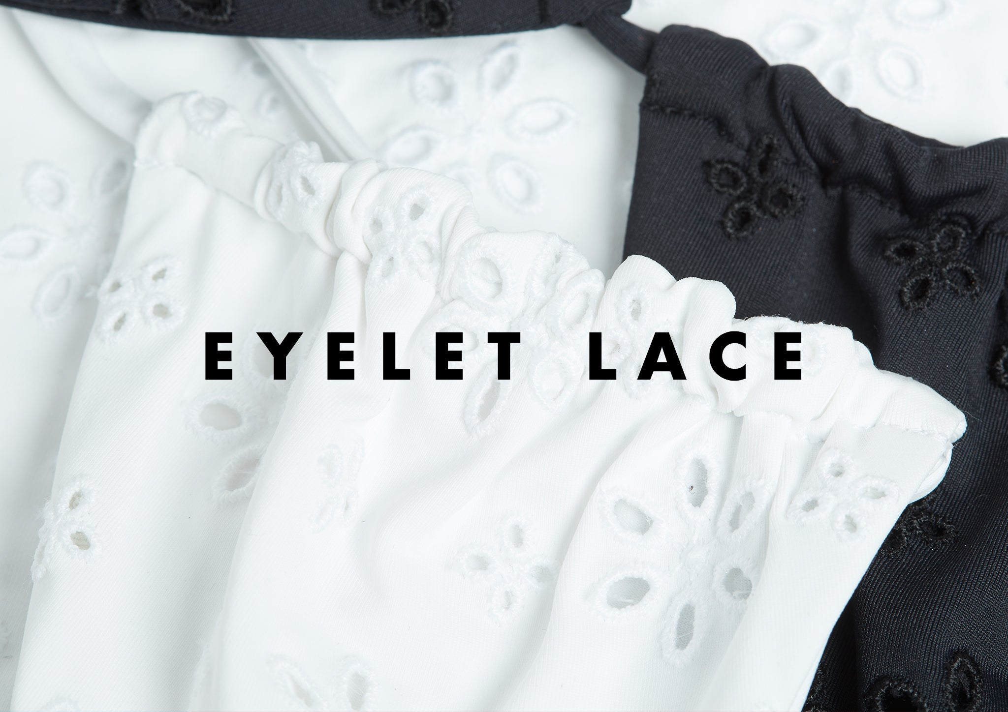 L*Space Eyelet Lace fabric