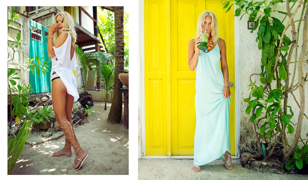 RIPTIDE CAFTAN // MOONLIGHT MAXI