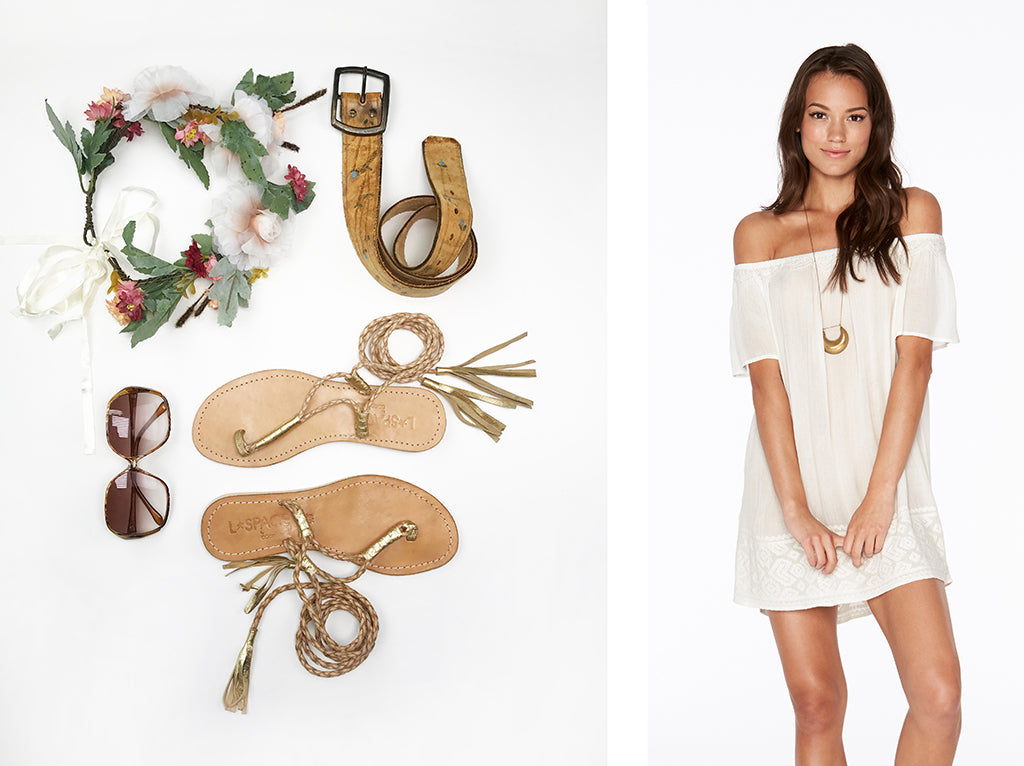 Flower Child | Accessorize the ivory Jasper Tunic with bohemian pieces from your own closet to effortlessly pull together a whimsically chic Flower Child ...  sc 1 st  L*Space & Halloween DIY Costumes u2013 L*Space