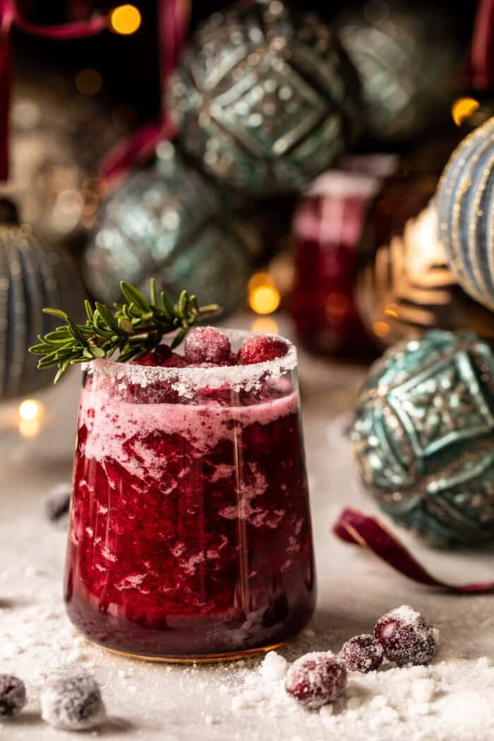 Frosted Mistletoe Margarita