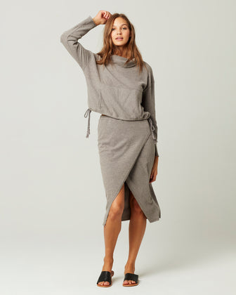 CLAIRE PULLOVER SWEATSHIRT