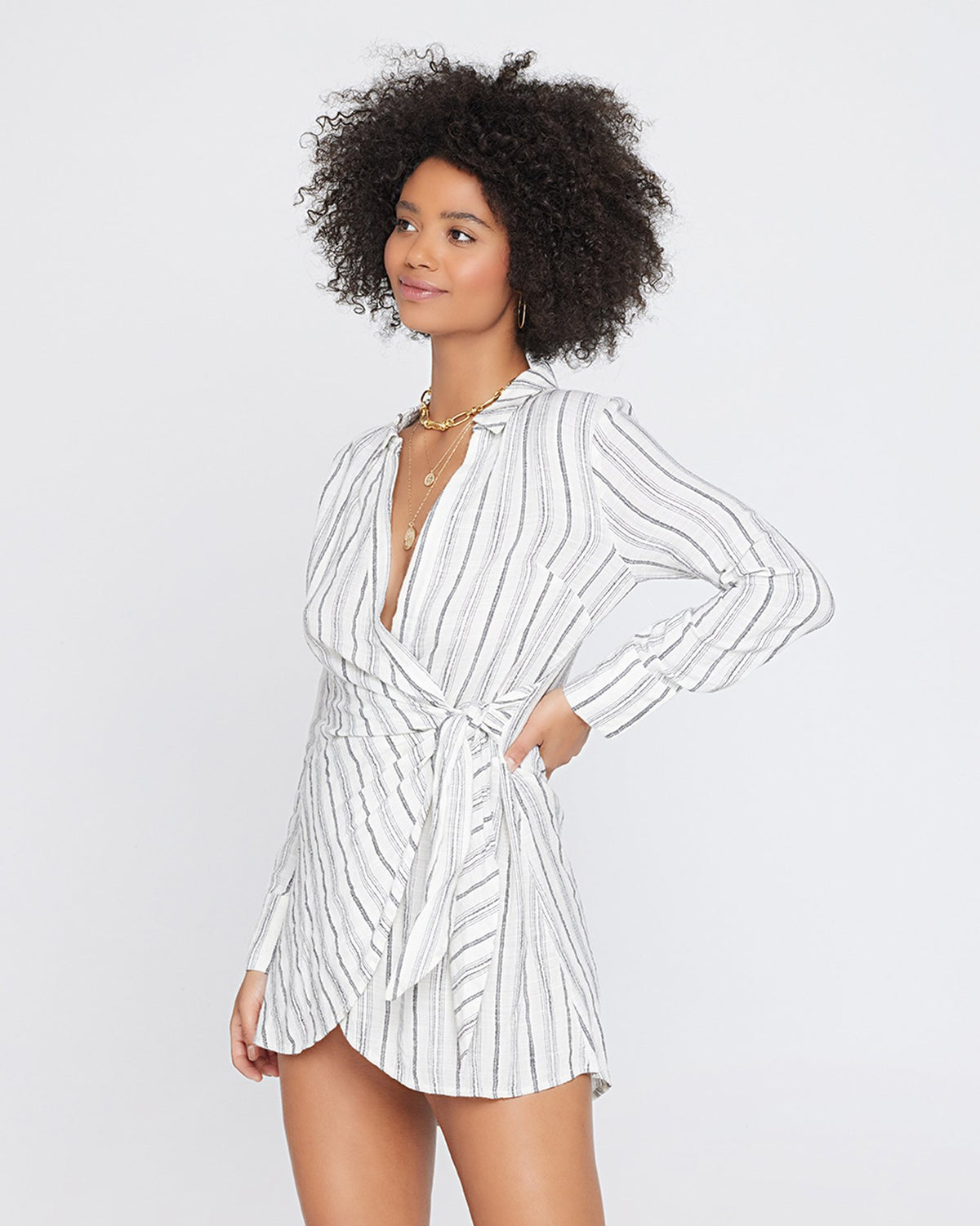 Summer Nights Stripe | Valyn (size: S)