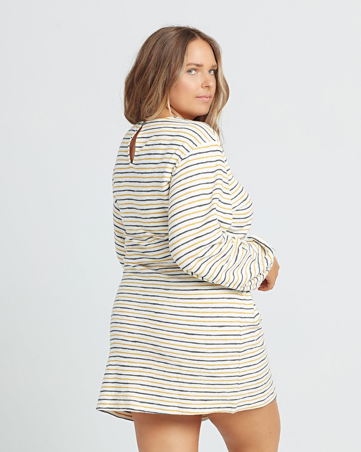 Surf's Up Stripe | Model: Ali (size: XL)