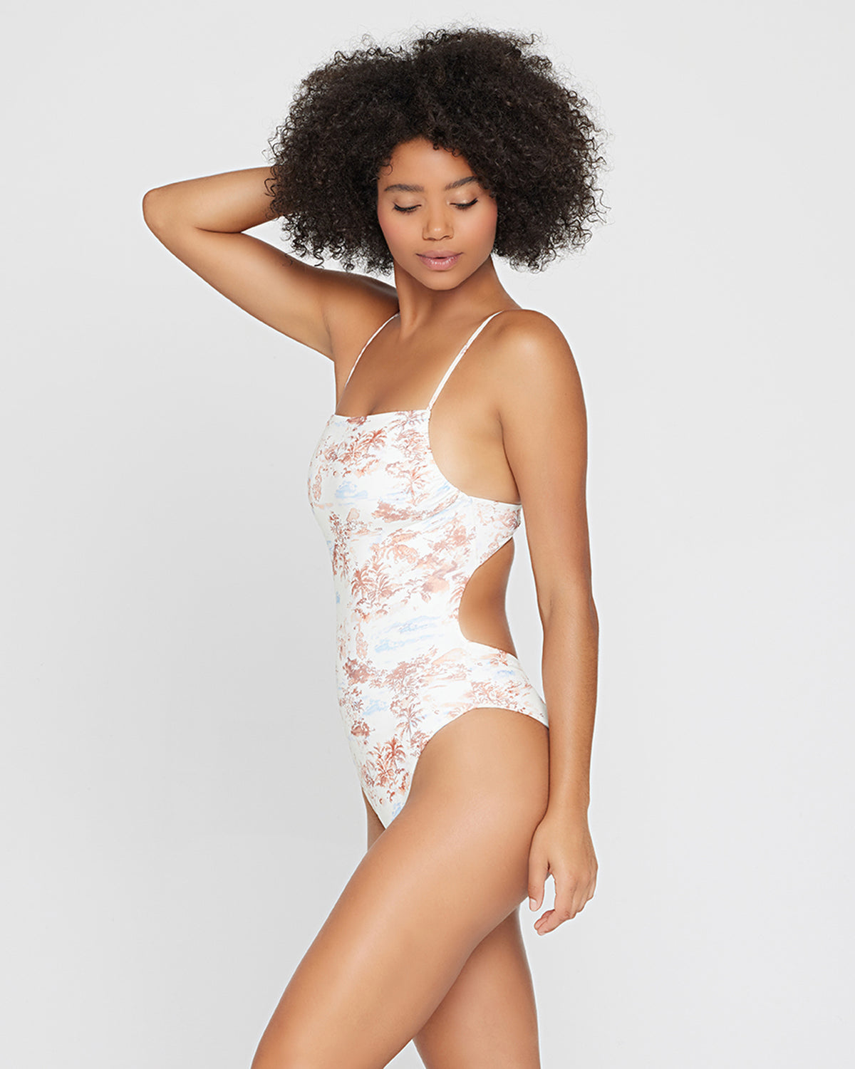 Eco Chic Econyl® Everly One Piece Swimsuit