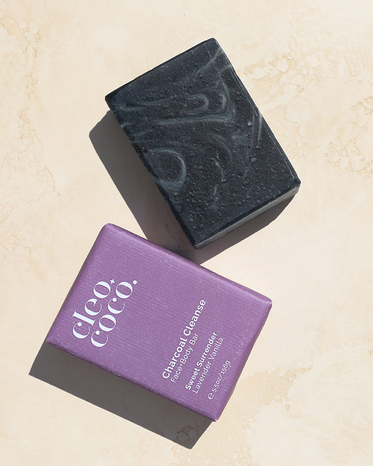 Cleo+Coco Charcoal Cleanse Face + Body Bar