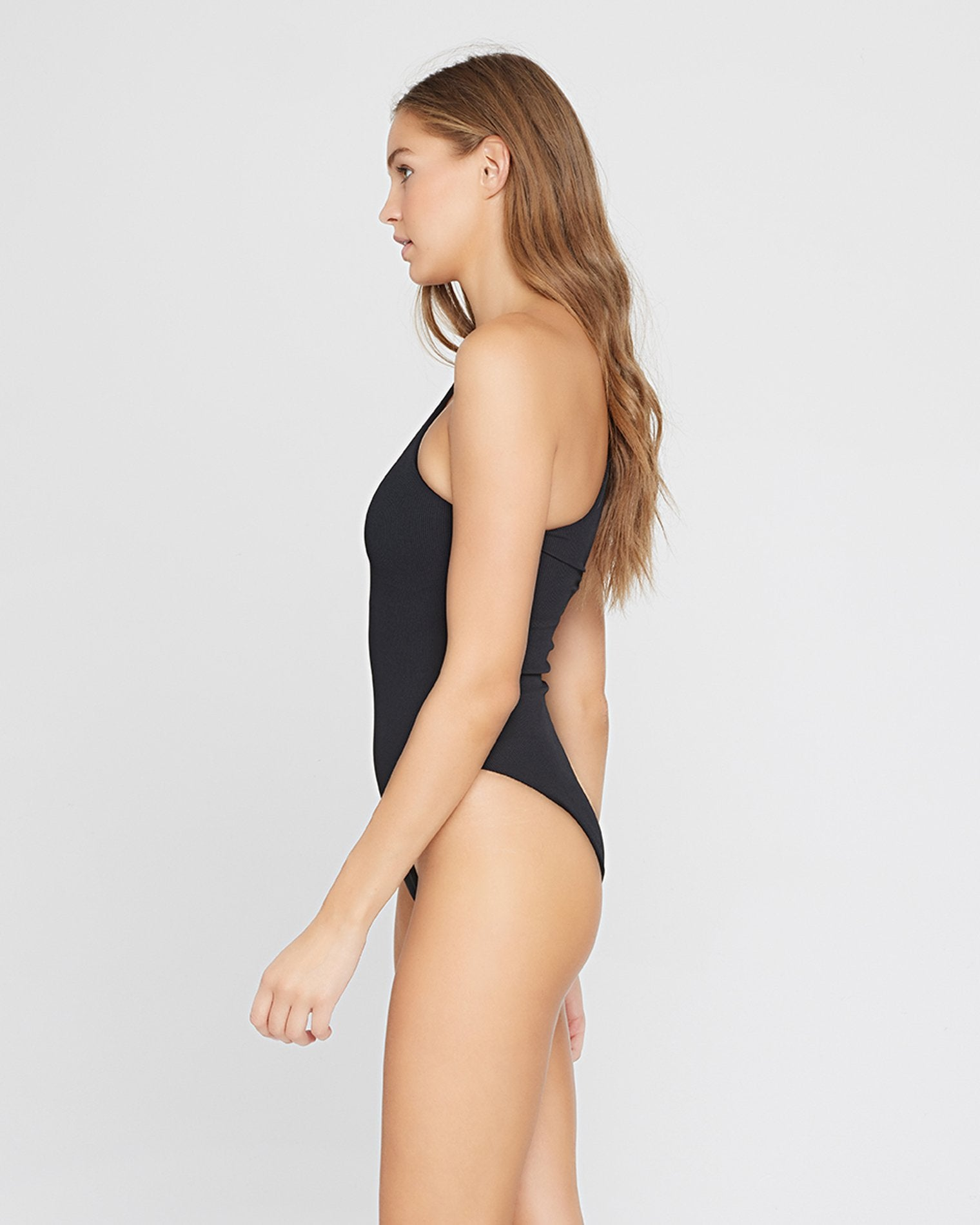 Ribbed Phoebe One Piece Swimsuit