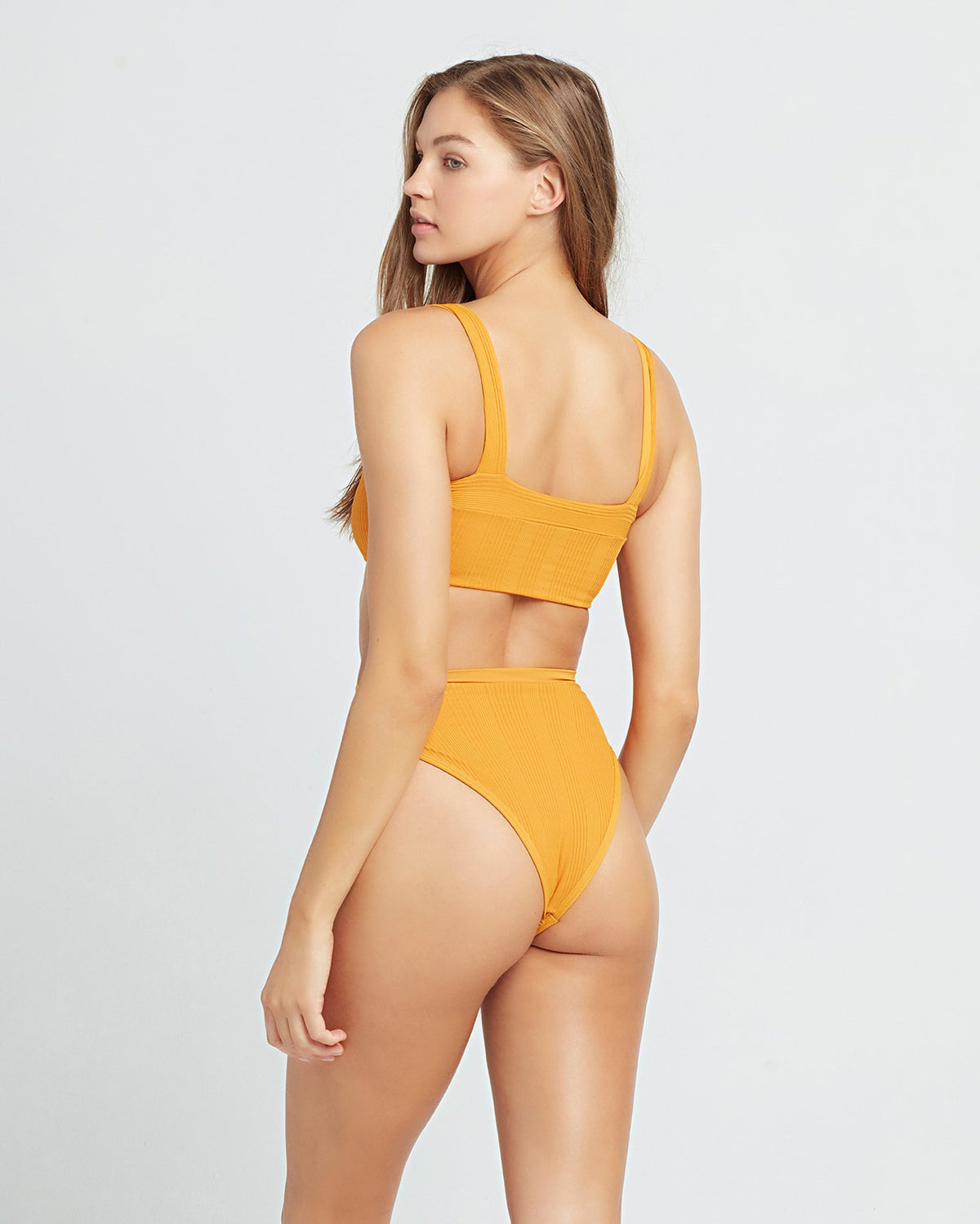Pointelle Rib Lee Lee Bikini Top
