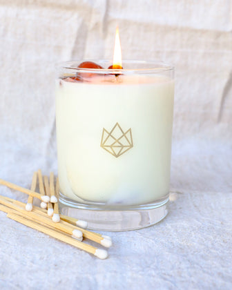Aluminate Life Energy Candle