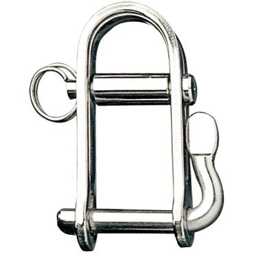 "HALYARD SHACKLE BL/3310 LBS. 1/4"" Pin  EA."