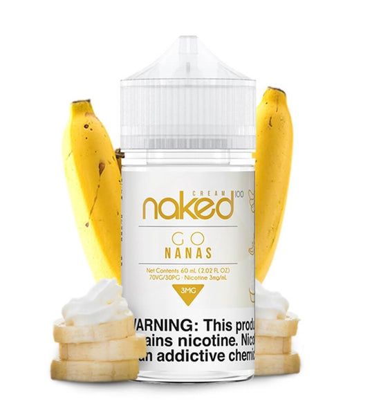 100 Naked E-Liquid - Banana - 60mL