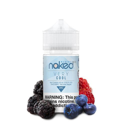 100 Naked E-Liquid - Berry & Menthol - 60mL