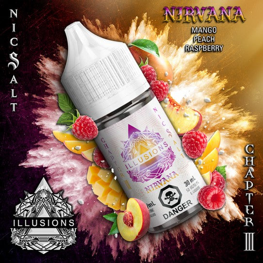 ILLUSIONS VAPOR Chapter 3 ''Nirvana''30ML NIC SALT
