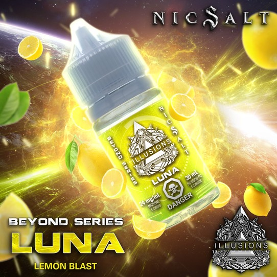 ILLUSIONS VAPOR ''Luna'' NIC Salt 30ML