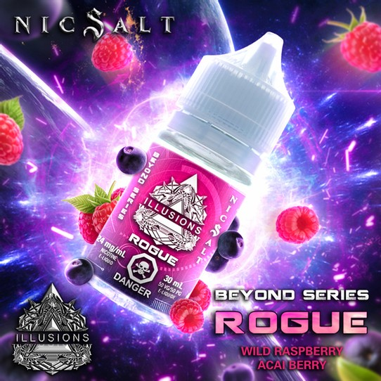 ILLUSIONS VAPOR ''Rogue'' 30ML Nic Salt