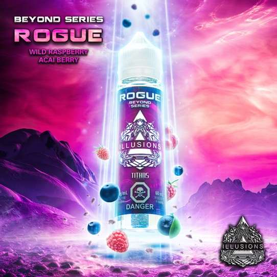 ILLUSIONS VAPOR ''Rogue'' 60ML Nic Base