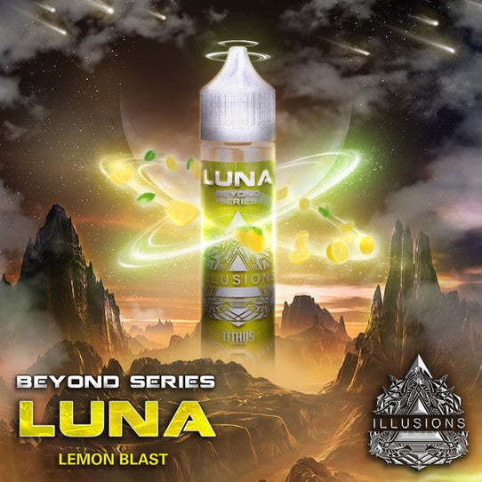 ILLUSIONS VAPOR ''Luna'' NIC BASE 60ML