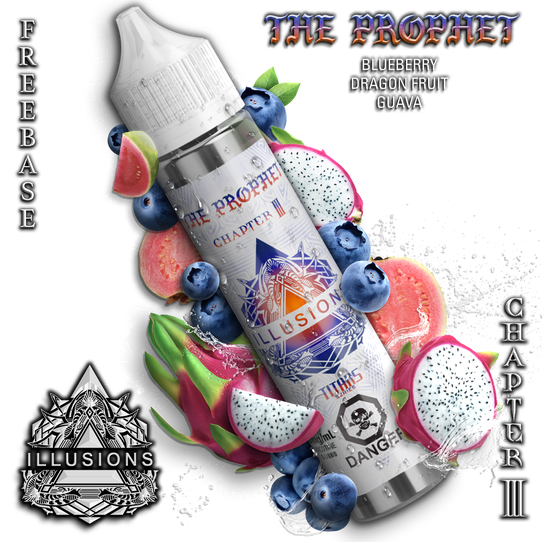 ILLUSIONS VAPOR ' The Prophet' 60ML