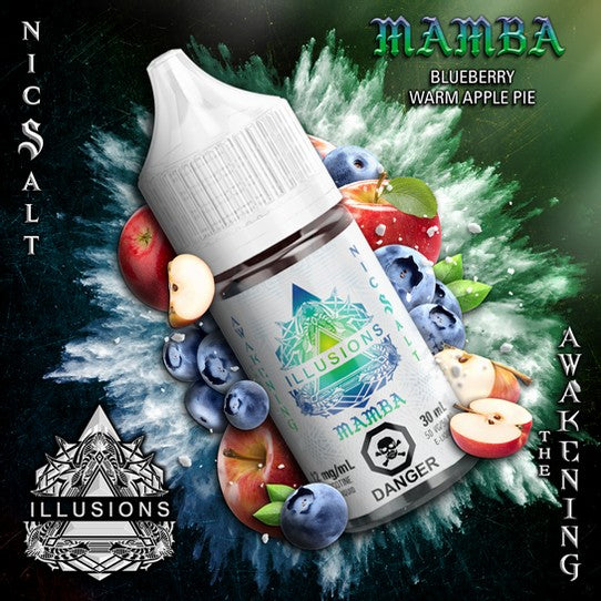 ILLUSIONS VAPOR '' Mamba '' 30ML Nic Salt