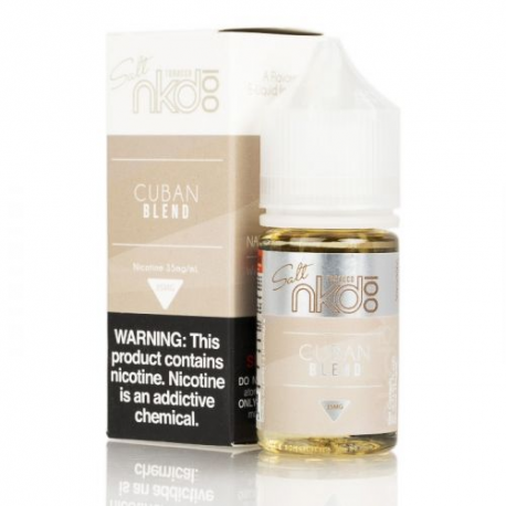 100 Naked E-Liquid - Cuban Blend - NicSalts-30mL