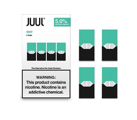 JUUL '' 4 Pods '' Pack /  Mint-Flavor