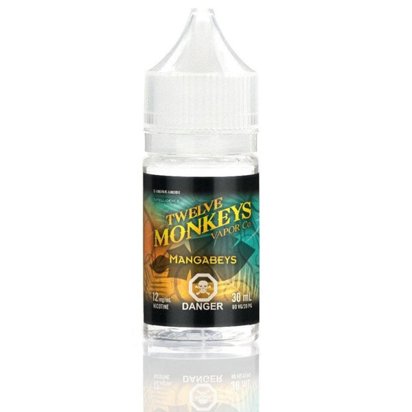 "Twelve Monkey's '' Mangabeys "" 30ML/ NIC Salt"
