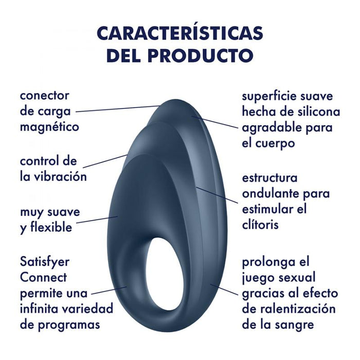 Anillo Vibrador Para El Pene Satisfyer Powerful One Ring Bali Sex Store