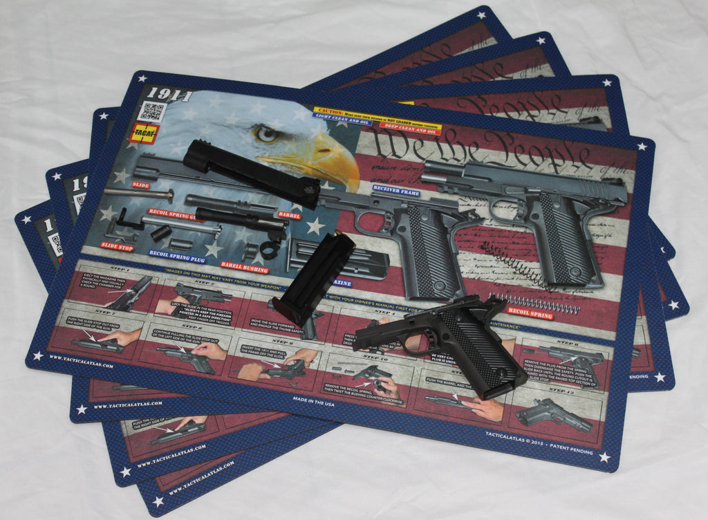 Land Of The Free 1911 Padded Gun Cleaning Mat By Tactical