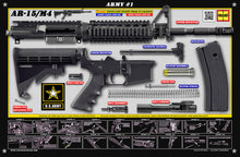 The United States Army M4 Padded Gun Cleaning Mat by Tactical Atlas