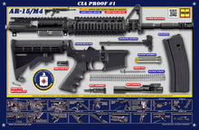 The CIA M4 Padded Gun Cleaning Mat by Tactical Atlas