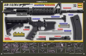 Cabela's AR15 Padded Gun Cleaning Mat by Tactical Atlas