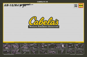 (This is a thought, not a product) - Cabela's AR15 Padded Gun Cleaning Mat by Tactical Atlas - (This is a thought, not a product)