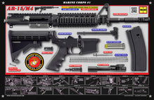 The United States Marine Corps M4 Padded Gun Cleaning Mat by Tactical Atlas - Tactical Atlas
