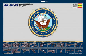 The United States Navy M4 Padded Gun Cleaning Mat by Tactical Atlas - Tactical Atlas