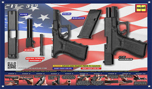 Land of the Free Glock Poster