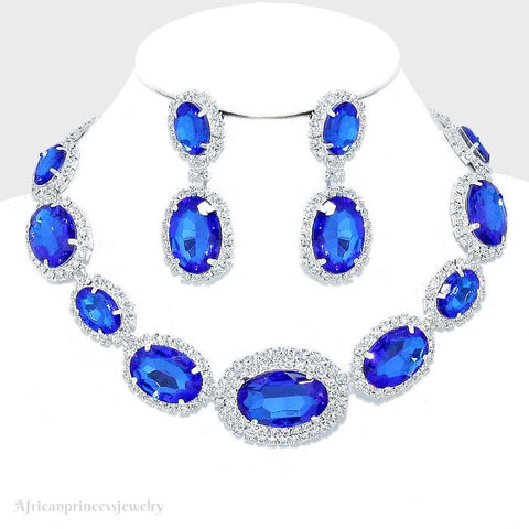 CRYSTAL NECKLACE SET