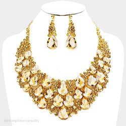 EVENING CRYSTAL NECKLACE
