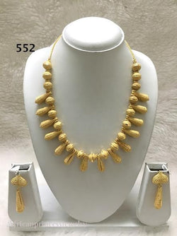 THREE PIECE INDIAN / AFRICAN NECKLACE SET
