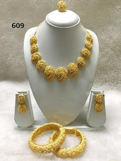 THREE PIECE INDIAN /AFRICAN NECKLACE SET